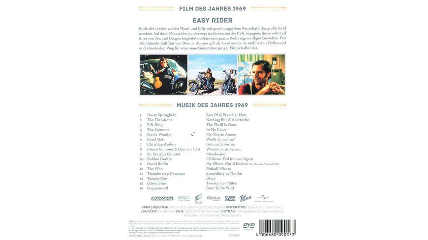 Mein Jahr 1969 Easy Rider Die Musik des Jahres CD