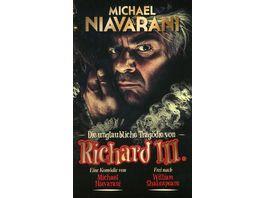 Die unglaubliche Tragoedie von Richard III 2 DVDs Bonus DVD Buch