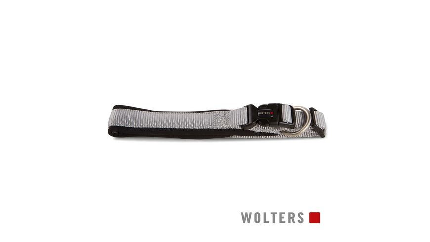 Wolters Professional Comfort Halsband 25 28cm x 15mm silber