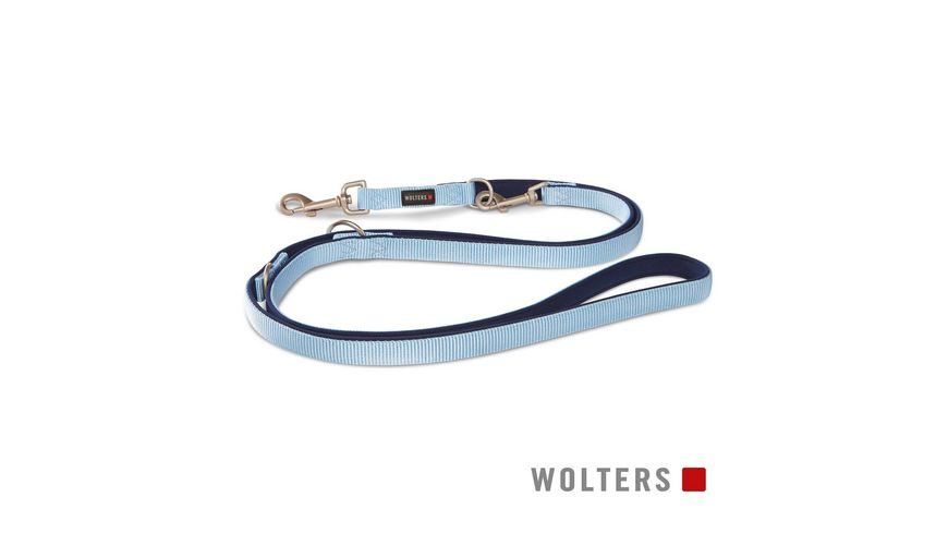 Wolters Professional Comfort Fuehrleine 200cm x 25mm sky blue
