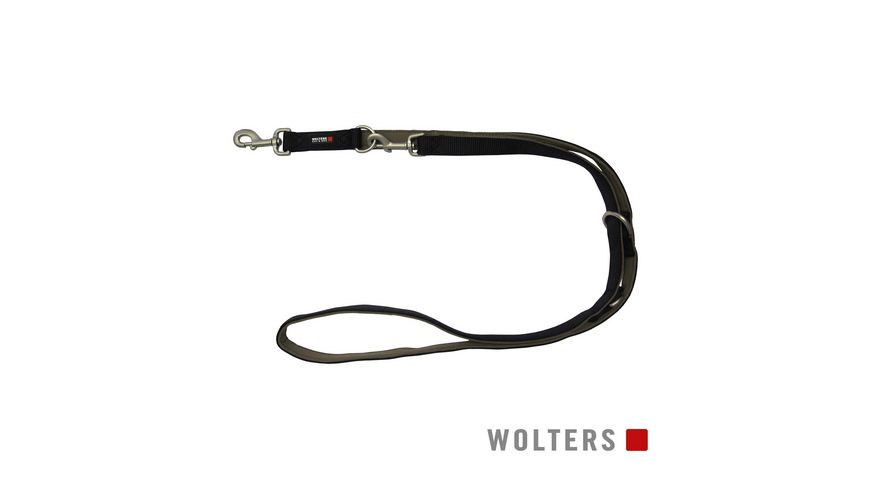 Wolters Professional Comfort Fuehrleine 200cm x 25mm schwarz