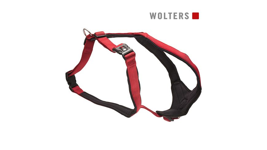 Wolters Professional Comfort Geschirr 35 40cm x 25mm rot