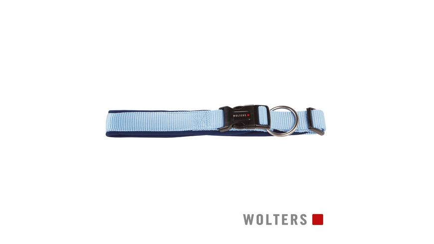 Wolters Professional Comfort Halsband 30 35cm x 25mm sky blue