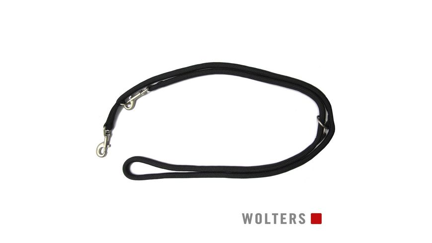 Wolters K2 Tauprogramm Fuehrleine 300cm x 9mm schwarz