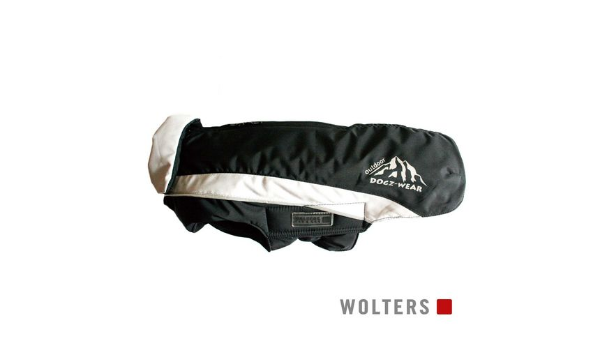 Wolters Skijacke Dogz Wear 42cm schwarz grau