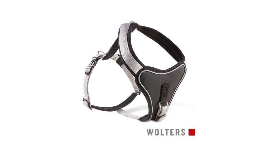 Wolters Professional Comfort Geschirr 45 50cm x 25mm silber
