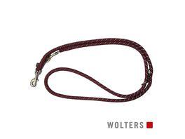 Wolters Everest Tauprogramm Fuehrleine 200cm x 9mm rot schwarz