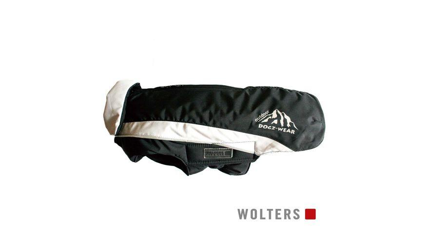 Wolters Skijacke Dogz Wear 44cm schwarz grau
