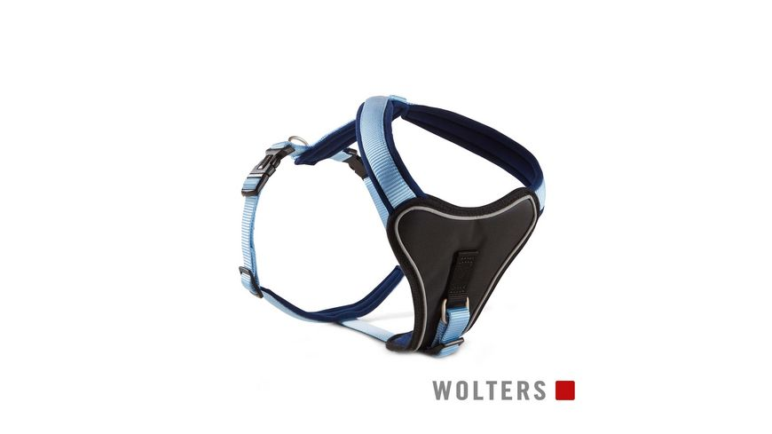Wolters Professional Comfort Geschirr 50 60cm x 30mm sky blue