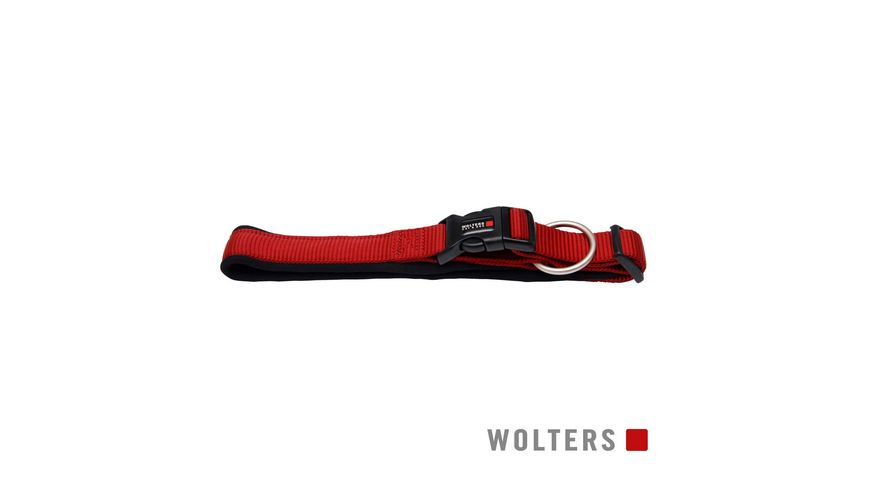 Wolters Professional Comfort Halsband 50 55cm x 35mm rot