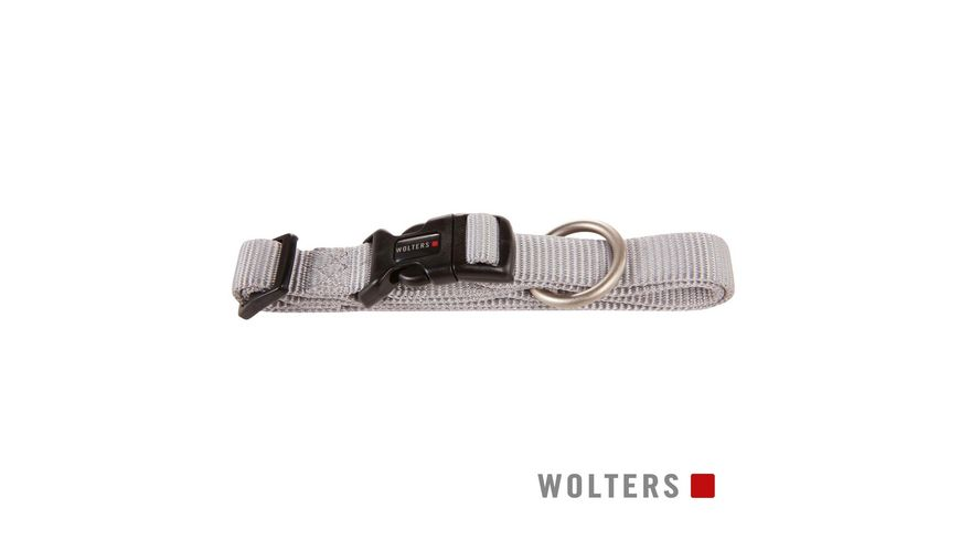 Wolters Professional Halsband 45 65cm silber