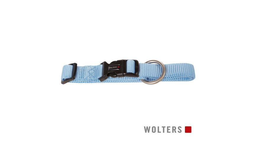 Wolters Professional Halsband x breit 18 30cm sky blue