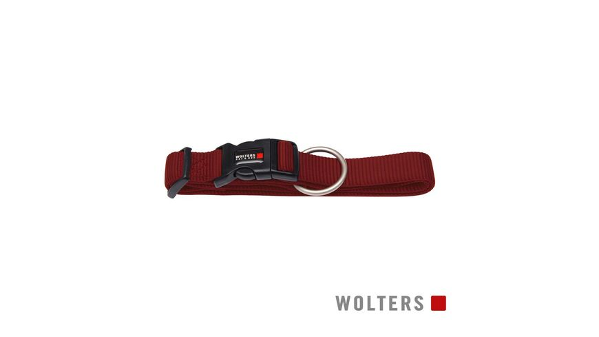 Wolters Professional Halsband x breit 28 40cm rot