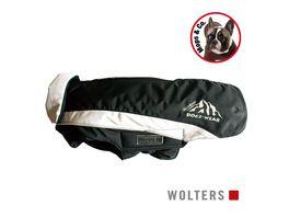 Wolters Skijacke Dogz Wear Mops 38cm schwarz grau