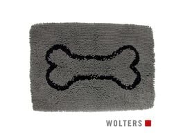Wolters Dirty Dog Doormat Large 90 x 66cm grau