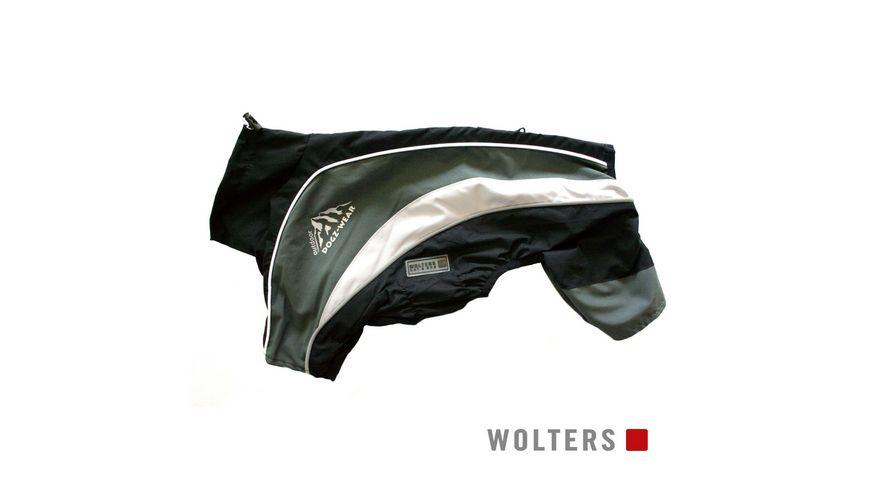 Wolters Regenanzug Dogz Wear 38cm schwarz grau