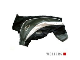 Wolters Regenanzug Dogz Wear 42cm schwarz grau