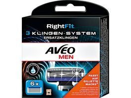 AVEO MEN RightFit 3 Klingen System Ersatzklingen