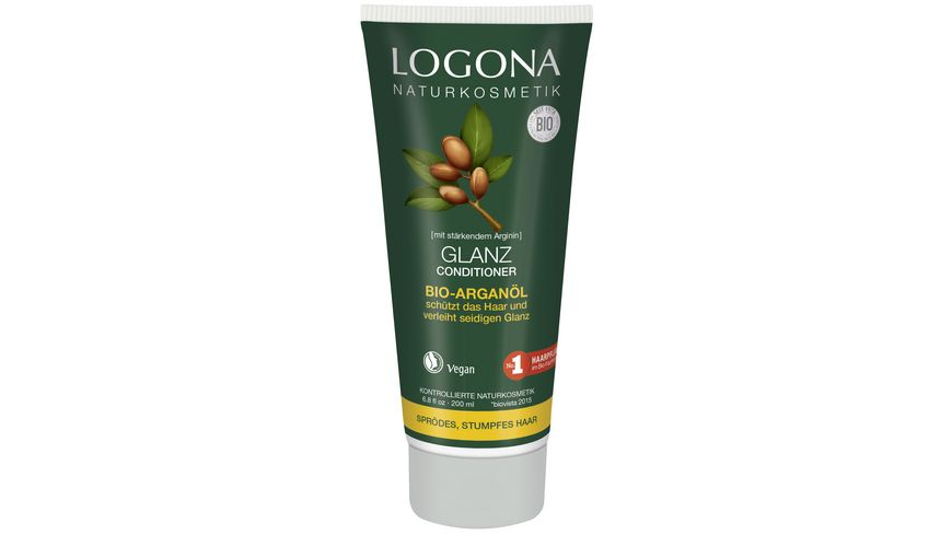 LOGONA Glanz Conditioner Bio Arganoel