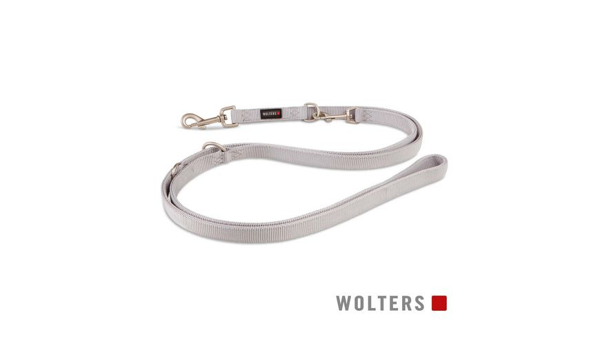 Wolters Professional Fuehrleine lang 300cm x 25mm silber