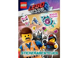 LEGO The LEGO Movie 2 Stickerabenteuer