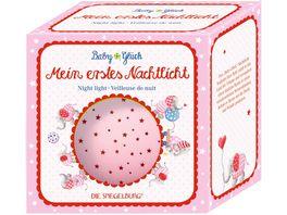 Die Spiegelburg Nachtlicht Sternenhimmel BabyGlueck rosa Elefant