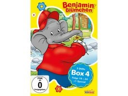 Benjamin Bluemchen Box 4 3 DVDs