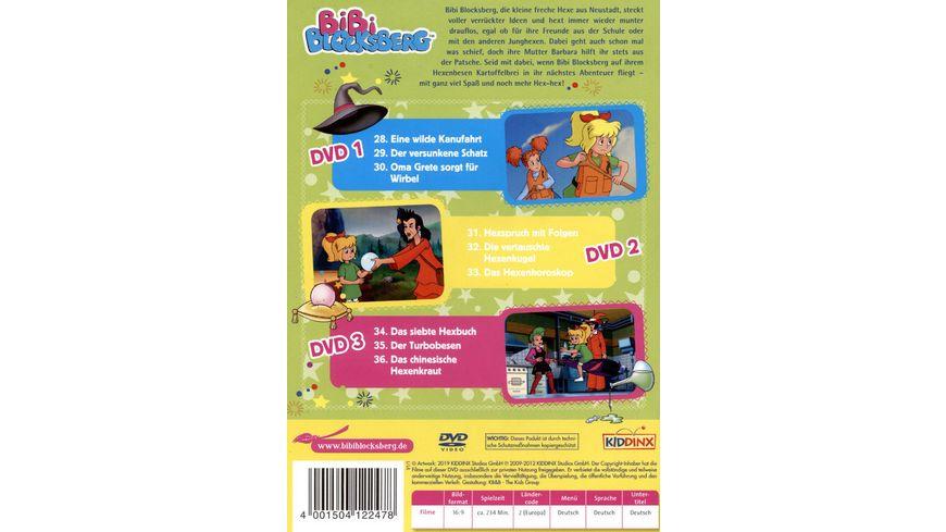 Bibi Blocksberg Box 4 3 DVDs