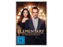 Elementary Season 6 6 DVDs