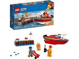 LEGO City 60213 Feuerwehr am Hafen
