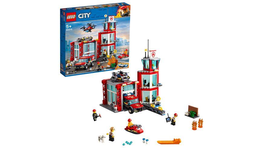 LEGO City - 60215 Feuerwehr-Station