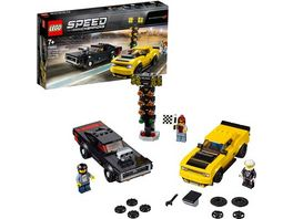 LEGO Speed Champions 75893 2018 Dodge Challenger SRT Demon und 1970 Dodge Charger R T