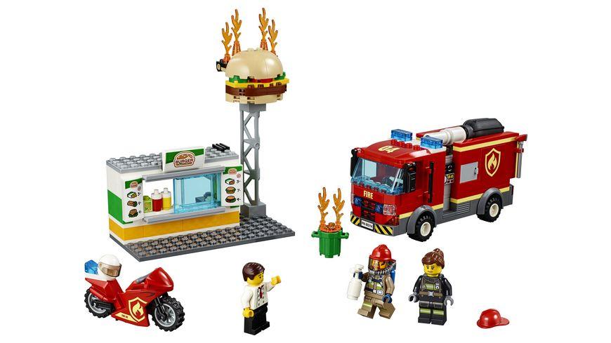 LEGO City 60214 Feuerwehreinsatz im Burger Restaurant
