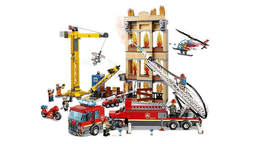 LEGO City 60216 Feuerwehr in der Stadt
