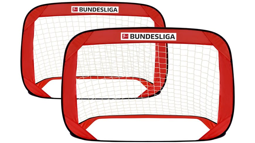 Xtrem Toys Bundesliga Pop Up Fussballtor 2er Set