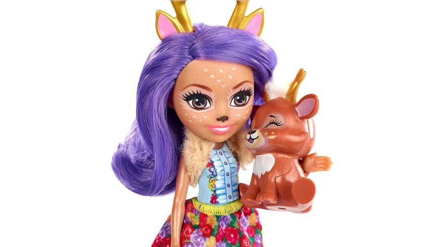 Mattel Enchantimals Danessa Deer und Sprint