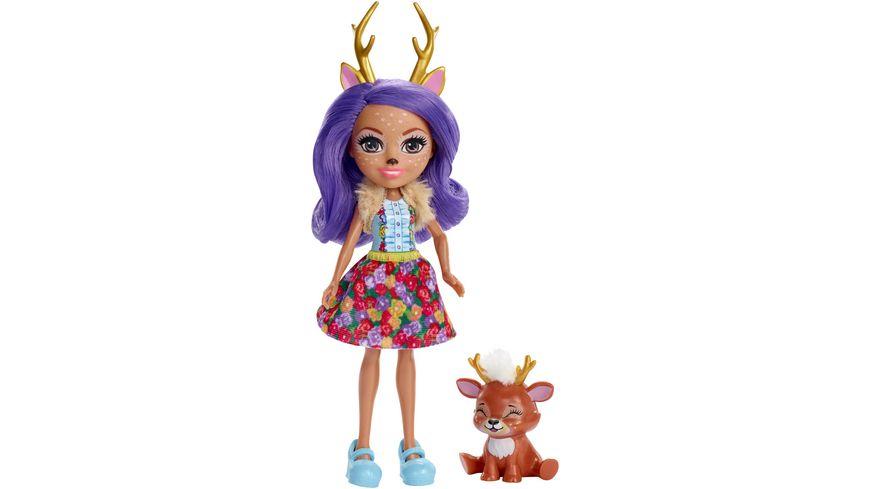 Enchantimals Danessa Deer & Sprint Puppe