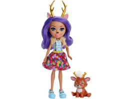 Mattel Enchantimals Danessa Deer und Sprint