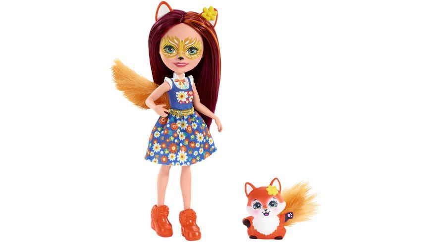 MATTEL Enchantimals Felicity Fox Doll w// Flick