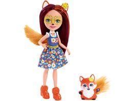 Mattel Enchantimals FXM71 Felicity Fox und Flick