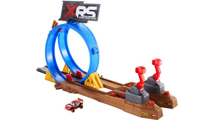 Mattel Cars Crash Looping Spielset