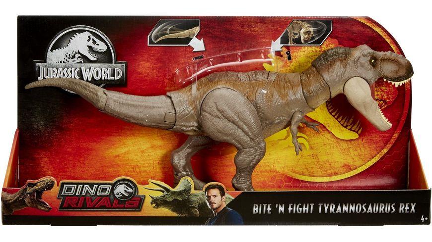 Mattel Jurassic World Dino Rivals Superbiss Kampfaction Tyrannosaurus Rex