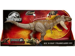 Mattel Jurassic World Dino Rivals Superbiss Kampfaction Tyrannosaurus Rex