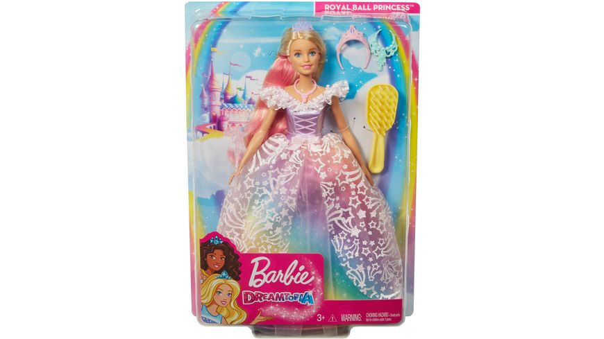 Mattel Barbie Dreamtopia Ultimate Princess Puppe blond