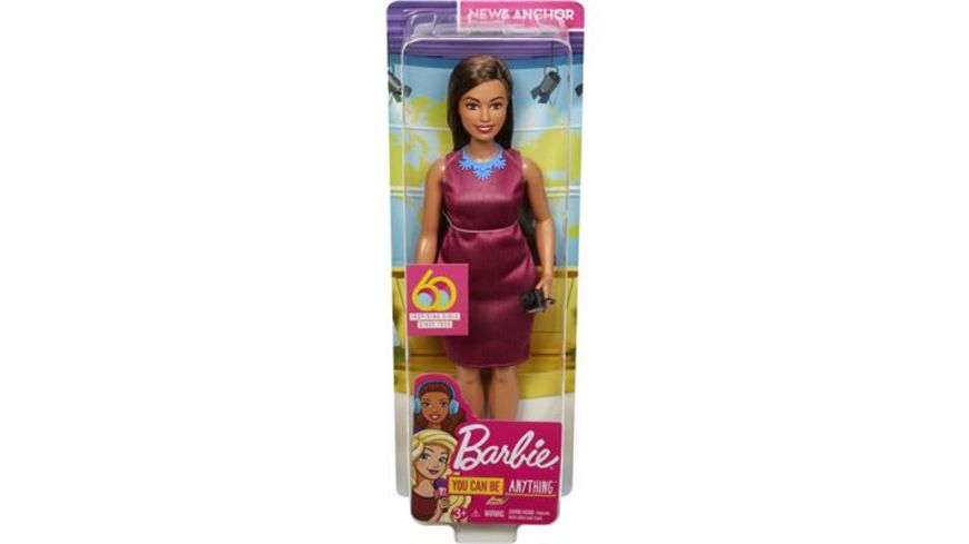 Mattel Barbie 60th Anniversary Journalistin Puppe
