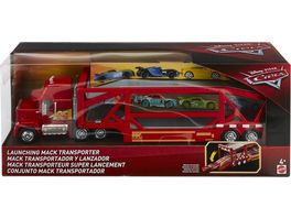 Mattel Cars Disney Cars Mack Transporter