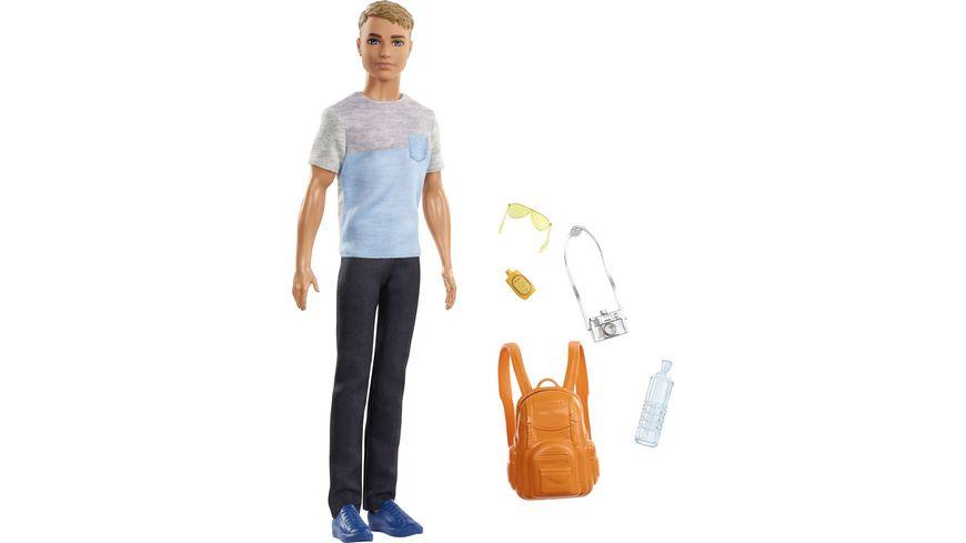 Mattel Barbie Travel Ken Puppe