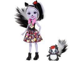 Mattel Enchantimals FXM72 Sage Skunk und Caper