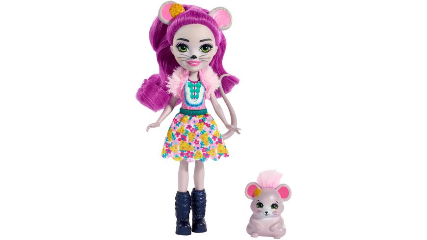 Mattel Enchantimals Mayla Mouse und Fondue