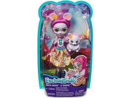 Mattel Enchantimals FXM76 Mayla Mouse und Fondue